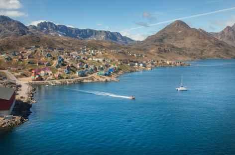 Tasiilaq, capitale de l'Est du Groenland -