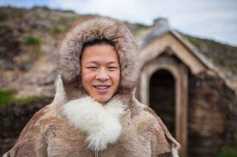 Tenue inuit traditionnelle ! -
