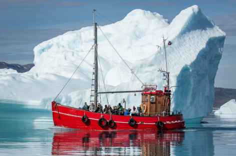 Navigation entre les icebergs - Groenland -