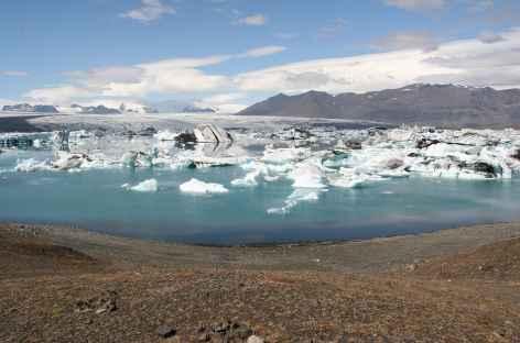Lagune glaciaire de Jökulsárlón - Islande -