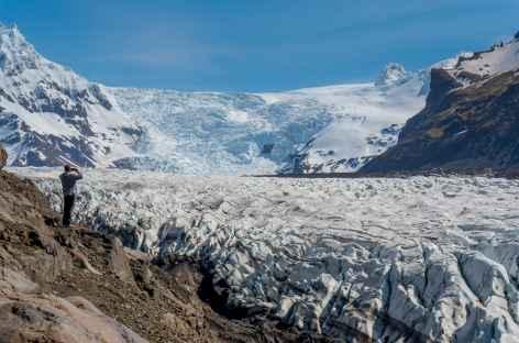 Glacier de Svínafellsjökull, Skaftafell - Islande -