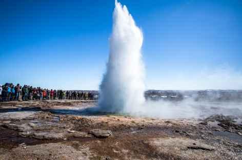 Site géothermique de Geysir - Islande -