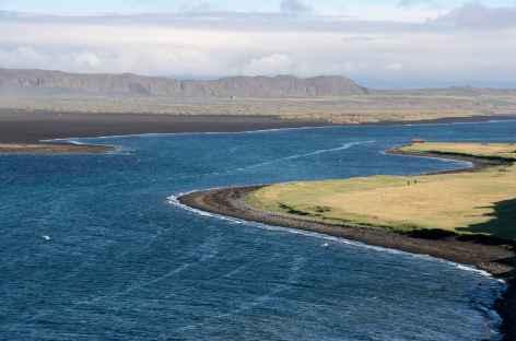 Littoral sauvage le long de la péninsule de Vatnsnes - Islande -