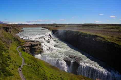 Cascade de Gullfoss - Islande -