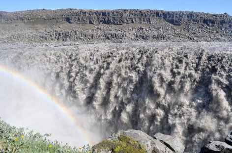 Dettifoss, chute d'eau la plus puissante d'Europe - Islande -