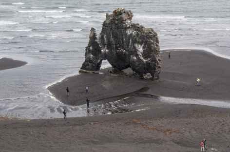 Arche basaltique d'Hvitserkur - Islande -
