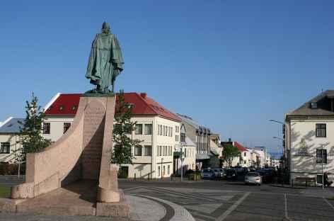 Centre-ville de Reykjavík - Islande -
