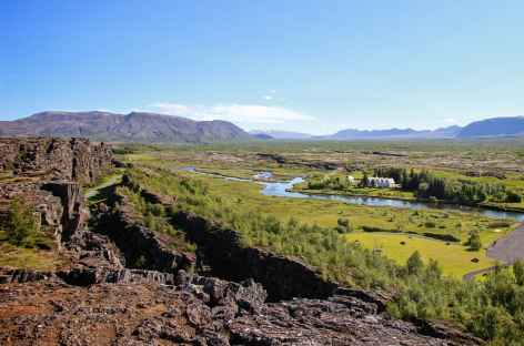 Faille tectonique de Thingvellir - Islande -