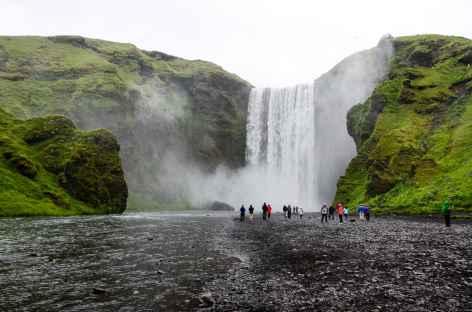 Cascade de Skógafoss - Islande -