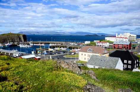 Port de Stykkishólmur, péninsule de Snaefellsnes - Islande -