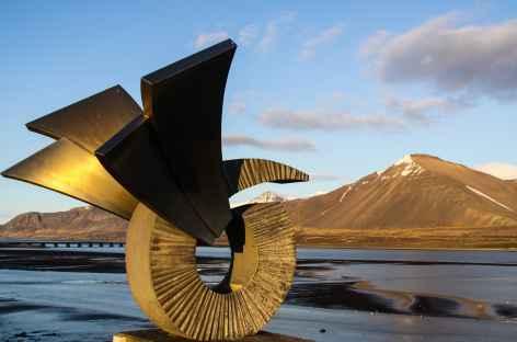 Dans les environs de Borgarnes - Islande -