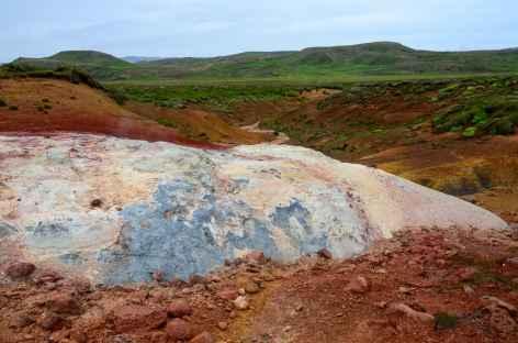 Site géothermique de Seltún, péninsule de Reyjanes - Islande -