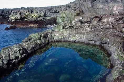 Côte volcanique sur la péninsule de Reykjanes - Islande -