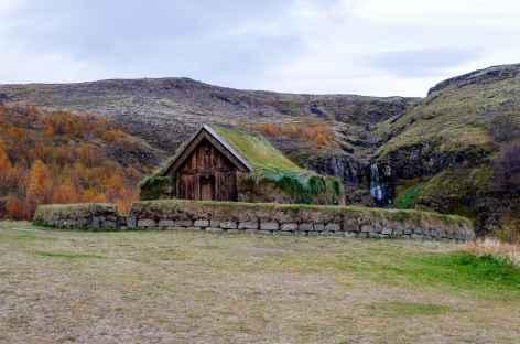 Ferme viking de Stöng, vallée de Thjórsárdalur - Islande -