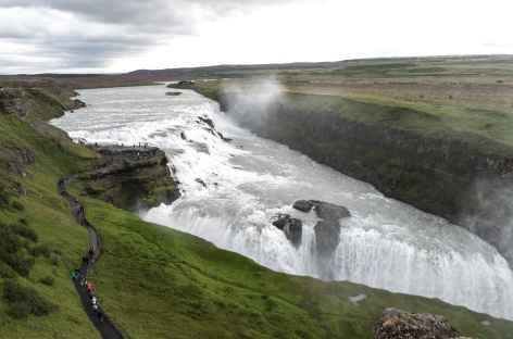 Chute Gulfoss - Islande -