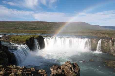 Godafoss (la cascade des dieux) - Islande -