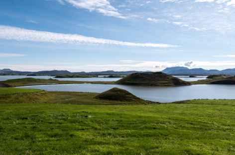 Lac Myvatn (pseudos cratères) - Islande -
