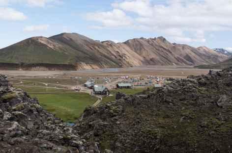 Refuge de Landmannalaugar - Islande -