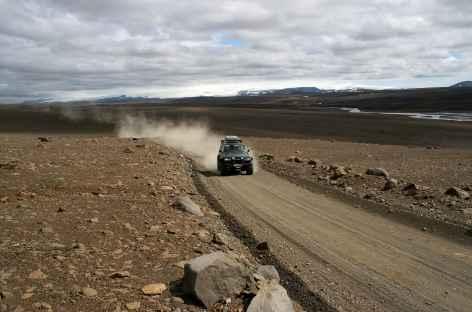 Sur la piste intérieure - Islande -
