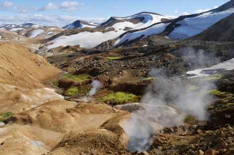Site géothermique de Kerlingarfjoll - Islande -