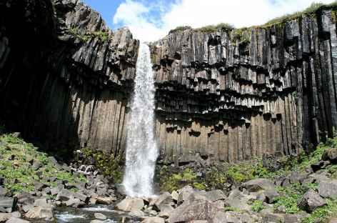 Cascade de Svartifoss - Islande -
