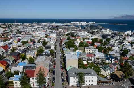 Centre-ville de Reykjavík, Islande -