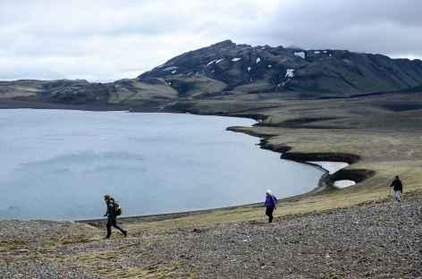 Trek entre Landmannahellir et Áfangagil, Islande -