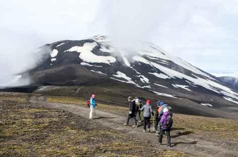 Ascension du volcan Hekla (1490 m), Islande -