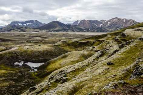 Région de Landmannalaugar, Islande -