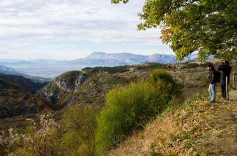 Rando et observation dans les montagnes des Abruzzes - Italie -