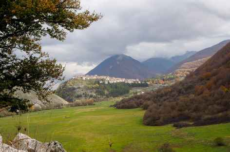 Village des Abruzzes, Italie -