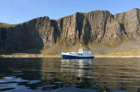 Notre bateau, le Polaris I, Lofoten - Norvège -