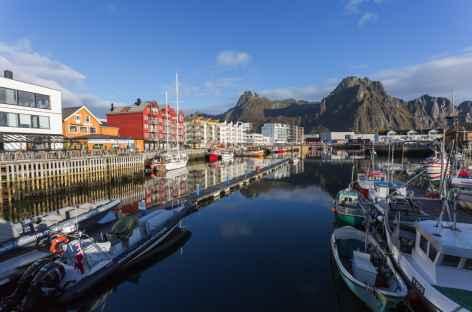 Port de Svolvaer, Lofoten - Norvège -