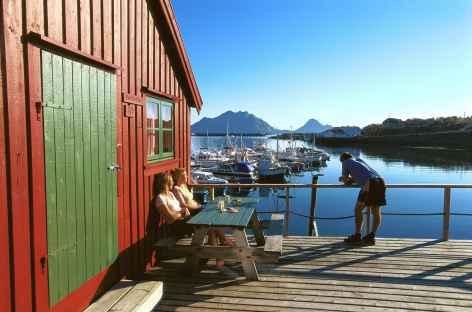 Cabane de pêcheurs, Lofoten - Norvège -