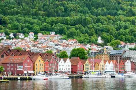 Ville de Bergen - Norvège -
