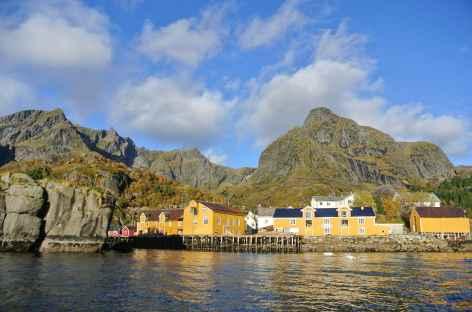 Maisons traditionnelles, Lofoten - Norvège -