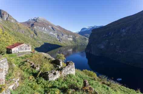 Geiranger fjord - Norvège -