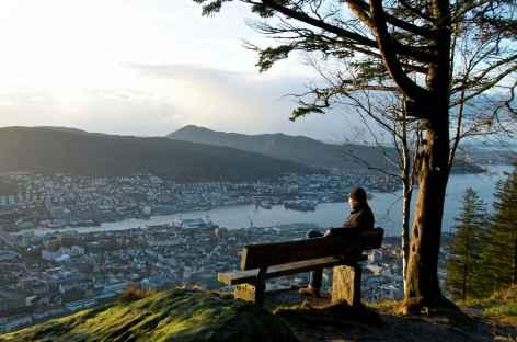 Sur les hauteurs de Bergen - Norvège -