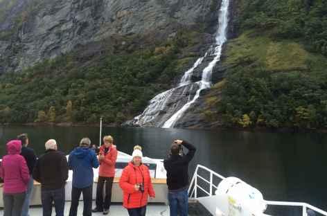 Sur le pont du Polaris - Norvège -