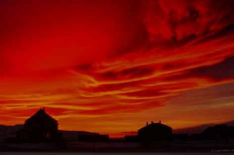 Lumière du soir - 23h45 en septembre - Spitzberg -