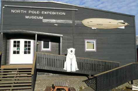 Le musée de Longyeaebyen - Spitzberg -