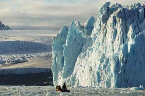 Approche du front glacière - Spitzberg -