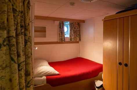 Une cabine du Polaris I - Spitzberg -
