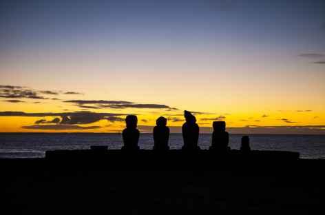 Site de Tahaï - Ile de Pâques -