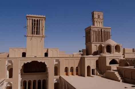 Tours du vent à Aqazadeh - Iran -