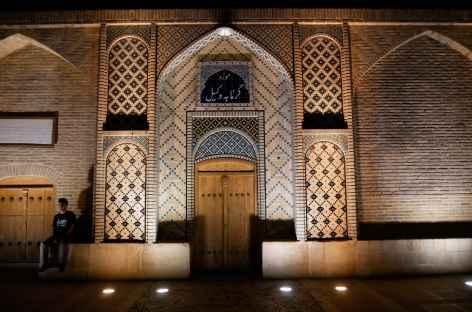 Entrée des bains, Shiraz - Iran -