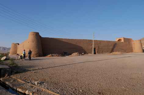 Ciradelle du désert, Esmaelian - Iran -
