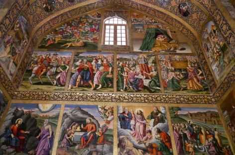 La cathédrale Vank, Ispahan - Iran -