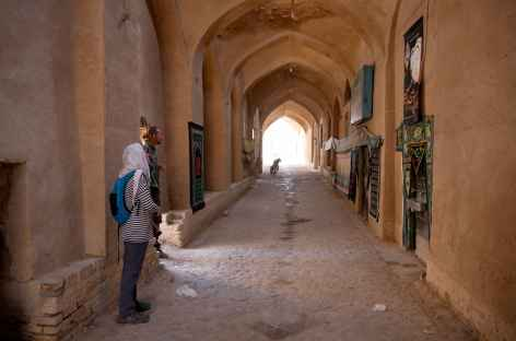 Ruelles à Aqda - Iran -