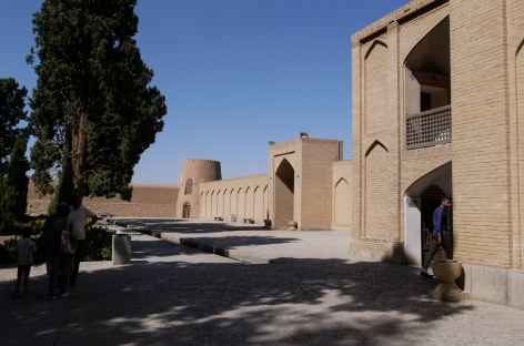 Entrée des jardins de Fin - Kashan -
